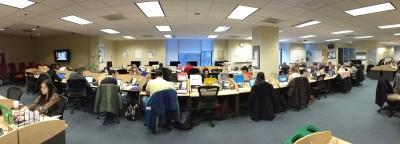 MEdill Newsroom Pano