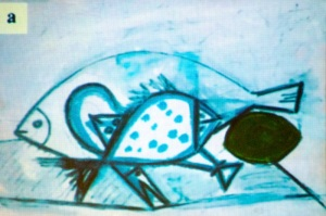 "Scientists at the Argonne  National Laboratory examined Pablo Picasso's ""Still Life with Three Fish, Moray Eel and Lime on White Ground"" with X-rays to make a chemical fingerprint of the artist's works."