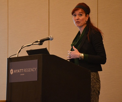 Professor Wandi Bruine de Bruin discusses her research at the 2014 AAAS meeting.
