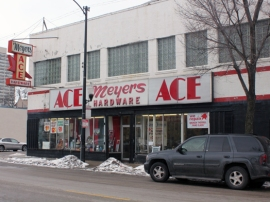"Other landmarks have taken on new identities over the years. Meyer's Ace Hardware on 35th Street used to be the famous Sunset Cafe jazz club. The hardware store continues to attract jazz enthusiasts from around the world. ""I always want to get one of the registers they have at hotels to get people to sign in,"" says manager Dave Meyers. ""We have people from Europe, Asia, Germany visiting the store. Tomorrow at one o'clock, I've got a guy coming in from France who's coming in to see the store."""