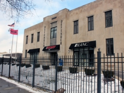 The Chicago Defender was the first black newspaper to have a circulation over 100,000, and remains a force in media at its new location on King Drive and 45th Street.
