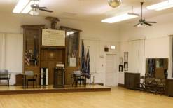 The space upstairs serves a dual purpose, housing the various artifacts along with providing more meeting space for the veterans in Post 414. Scarpelli says he is concerned about the post's future once his generation of veterans from WWII is gone.