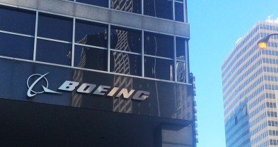 Boeing Co. headquarters in downtown Chicago.