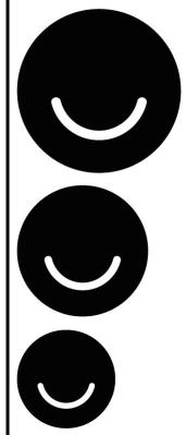 Ello is growing. Logos from Ello.