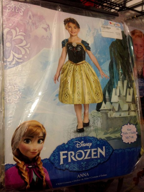 Costumes related to characters in the hit Disney movie Frozen are among the more popular items in the Halloween Store in Chicago.