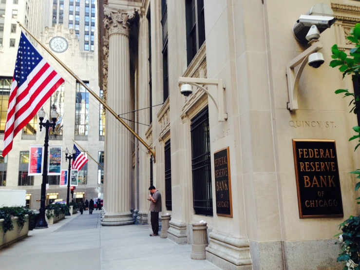 The Chicago Federal Reserve Bank / megan k. rauch / MEDILL
