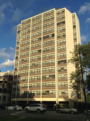 Drexel Tower Apartments is one of CHA's affordable housing properties and is located in Kenwood.