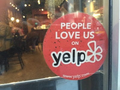 Yelp warned the company's fourth quarter revenue won't be as good as third quarter. Photo by Lei Xuan