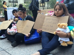 """A majority of homeless women in America have experienced domestic violence according to the National Coalition for the Homeless. """"The number one answer of survivors of domestic violence is financial stability. That's the reason why they stay,"""" Congresswoman Jan Schakowsky (D-9th) said in her speech."""