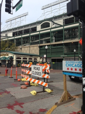 A complete overhaul of Wrigley Field began this week, after approval from city officials.