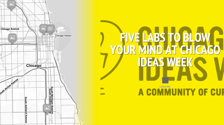 Click here to check out our interactive preview of Chicago Ideas Week. Map by Michael Epstein.