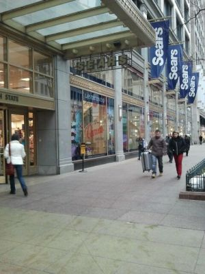 Sears flagship store on State Street, now shuttered. Picture by Jessica DuBois