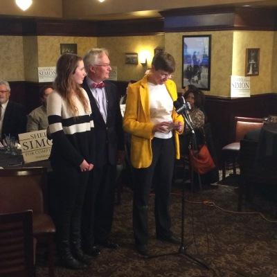 Illinois Lt. Gov. Sheila Simon concedes the race for state comptroller to incumbent Judy Baar Topinka. Lyndsey McKenna/Medill
