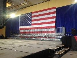 Rauner's stage.