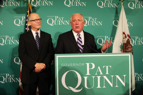 It wasn't the night Gov. Quinn was hoping for.de