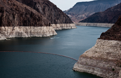 The Colorado River has been severely impacted by drought in recent years, worrying conservationists. Source: JPL/NASA.