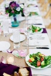 Joyce and Seubold used FIG Catering, a green Chicago catering company, for their reception and engagement dinner. Venue was Greenhouse Loft. Photo by Cassandra Eldridge Photography.